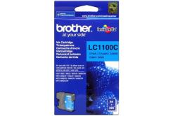 Brother LC-1100C azurová (cyan) originální cartridge, prošlá expirace