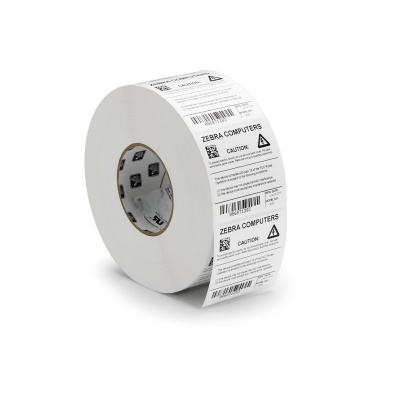Zebra 3008152 PolyPro 8000T Cryocool, label roll, synthetic, 30x15mm