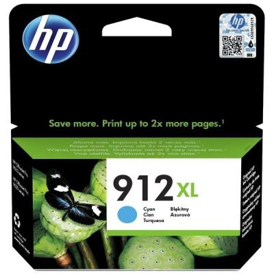 HP 912XL 3YL81AE azurová (cyan) originální cartridge