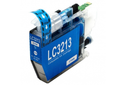 Brother LC-3213 azurová (cyan) kompatibilní cartridge