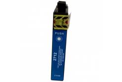 Epson 27X T2712 azurová (cyan) kompatibilní cartridge