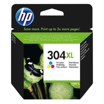 HP 304XL N9K07AE barevná (color) originální cartridge