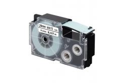 Kompatibilní páska s Casio XR-24WE1, 24mm x 8m, černý tisk / bílý podklad