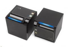 Seiko RP-D10 22450103 pokladní tiskárna, řezačka, Horní/Přední výstup, BT, černá, zdroj