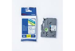 Brother TZ-MQ531 / TZe-MQ531, 12mm x4 m, černý tisk/modrý podklad, originální páska