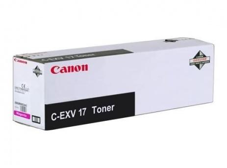 Canon C-EXV17 bíborvörös (magenta) eredeti toner