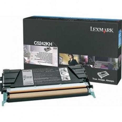 Lexmark C5242KH czarny (black) toner oryginalny