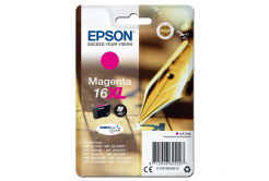 Epson originální ink C13T16334012, T163340, 16XL, magenta, 6.5ml, Epson WorkForce WF-2540WF, WF-2530WF, WF-2520NF, WF-2010