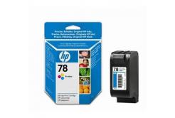HP č.78 C6578D barevná originální cartridge