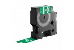 Kompatibilní páska s Dymo 1805420, 19mm x 5, 5m bílý tisk / zelený podklad, vinyl