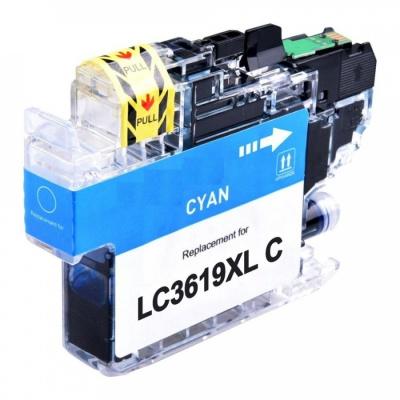 Brother LC-3619XL azurová (cyan) kompatibilní cartridge