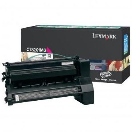 Lexmark C782X1MG purpuriu (magenta) toner original