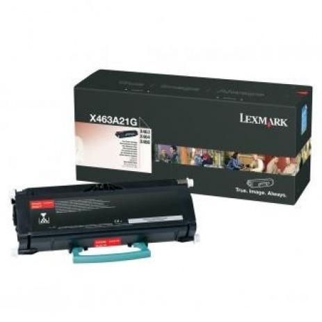 Lexmark X463A21G fekete (black) eredeti toner