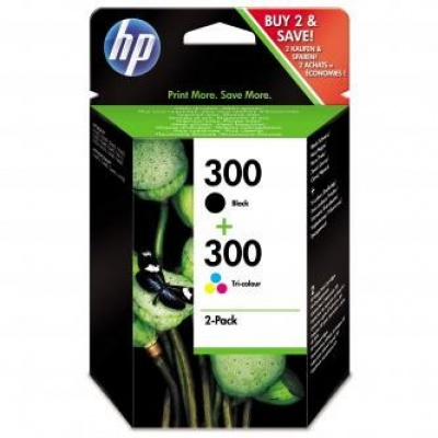 HP č.300 CN637EE sada originální cartridge