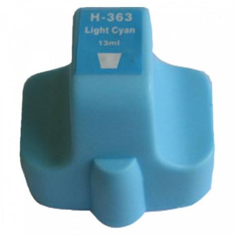 HP č.363 C8774E svetle azúrová (light cyan) kompatibilna cartridge