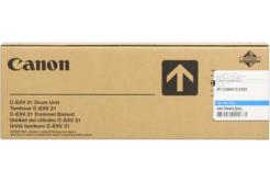 Canon C-EXV21 azurová (cyan) originální válcová jednotka