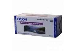 """Epson 210/10/Premium Glossy Photo Paper Roll, 210mmx10m, 8"""", C13S041377, 255 g/m2, foto papír, bílý"""