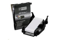 Zebra 800011-109 ribbon, bílá, barvicí folie