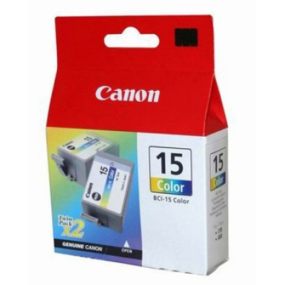 Canon BCI-15C color original ink cartridge