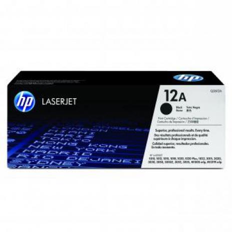 HP 12A Q2612A fekete (black) eredeti toner