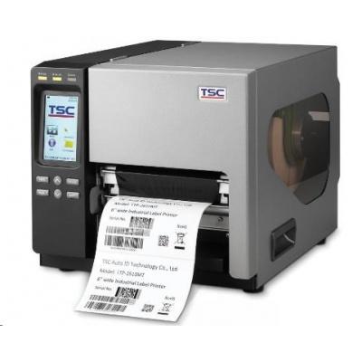 TSC TTP-2610MT 99-141A005-01LF drukarka etykiet, 8 dots/mm (203 dpi), RTC, display, TSPL-EZ, USB, RS232, LPT, Ethernet, KBW