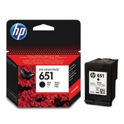 HP C2P10AE č.651 černá (black) originální cartridge