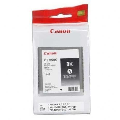 Canon PFI-102B black original ink cartridge