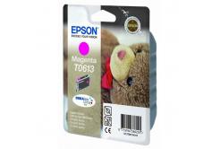 Epson T0613 purpurová (magenta) originální cartridge