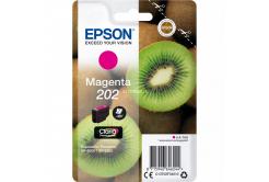 Epson 202 T02F34010 purpurová (magenta) originální cartridge