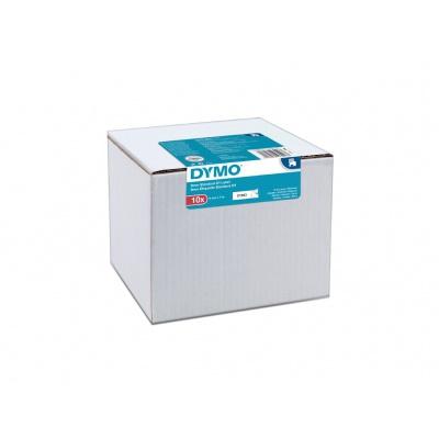 Dymo D1 40913, 2093096, 9mm x 7 m, černý tisk/bílý podklad, originální pásky, 10ks