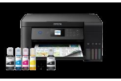 Epson EcoTank L4160 C11CG23401 inkoustová tiskárna, 3v1, A4, 33ppm, USB, Wi-Fi (Direct),  LCD, SDreader, 3 roky záruka po registraci