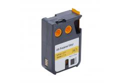 Kompatibilní páska s Dymo 1868772, 19mm x 7m, černý tisk/žlutý podklad