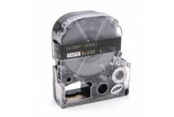 Epson LC-SC6KZ, 6mm x 8m, złoty druk / biały podkład, taśma zamiennik