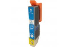 Epson T2432 XL azurová (cyan) kompatibilní cartridge