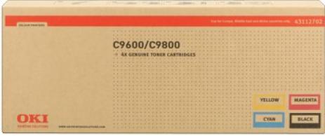 OKI 43112702 negru/azuriu/purpuriu/galben (black/cyan/magenta/yellow) multipack toner original