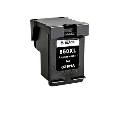 HP 650 XL CZ101A černá (black) kompatibilní cartridge