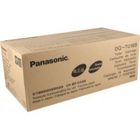 Panasonic DQ-TU18 black original toner