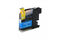 Brother LC-125XL/LC-127XL azúrová (cyan) kompatibilná cartridge
