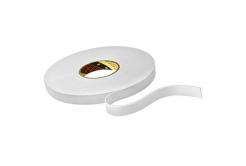 3M 9515W Montážní pěnová oboustranná páska, bílá, 9 mm x 33 m