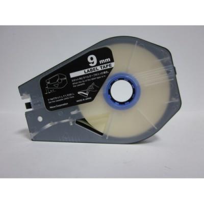 Kompatibilní samolepicí páska pro Canon M-1 Std/M-1 Pro, 9mm x 30m, kazeta, bílá
