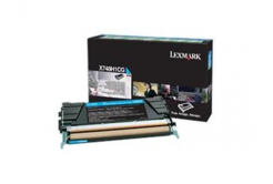 Lexmark X748H1CG azurový (cyan) originální toner