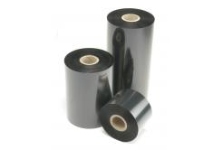 """TTR páska, vosková (wax) 70mm x 74m, 1/2"""", IN černá"""