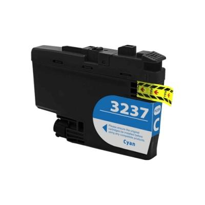 Brother LC-3237 azurová (cyan) kompatibilní cartridge