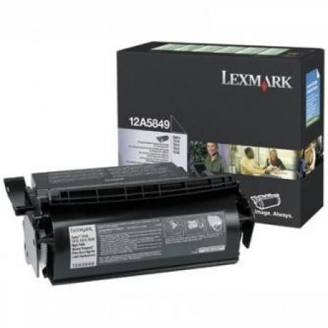 Lexmark 12A5849 fekete (black) eredeti toner
