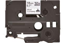 Brother TZe-CL4, 18mm x 4m, čisticí, kompatibilní páska