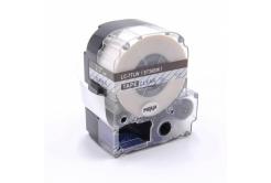Epson LC-ST36BW, 36mm x 8m, modrý tisk / průhledný podklad, kompatibilní páska