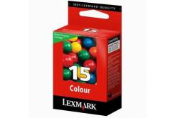 Lexmark č.15 18C2110E kolorowa tusz oryginalna