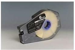Kompatibilní samolepicí páska pro Canon / Partex M-1 Std/M-1 Pro, 6mm x 30m, kazeta, bílá