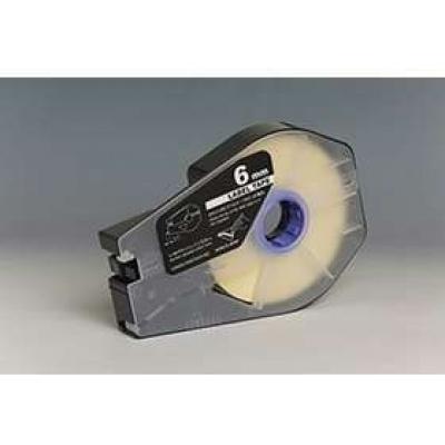 Kompatibilní samolepicí páska pro Canon M-1 Std/M-1 Pro, 6mm x 30m, kazeta, bílá