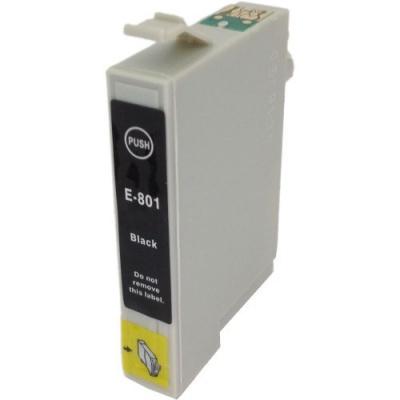 Epson T0801 černá (black) kompatibilní cartridge